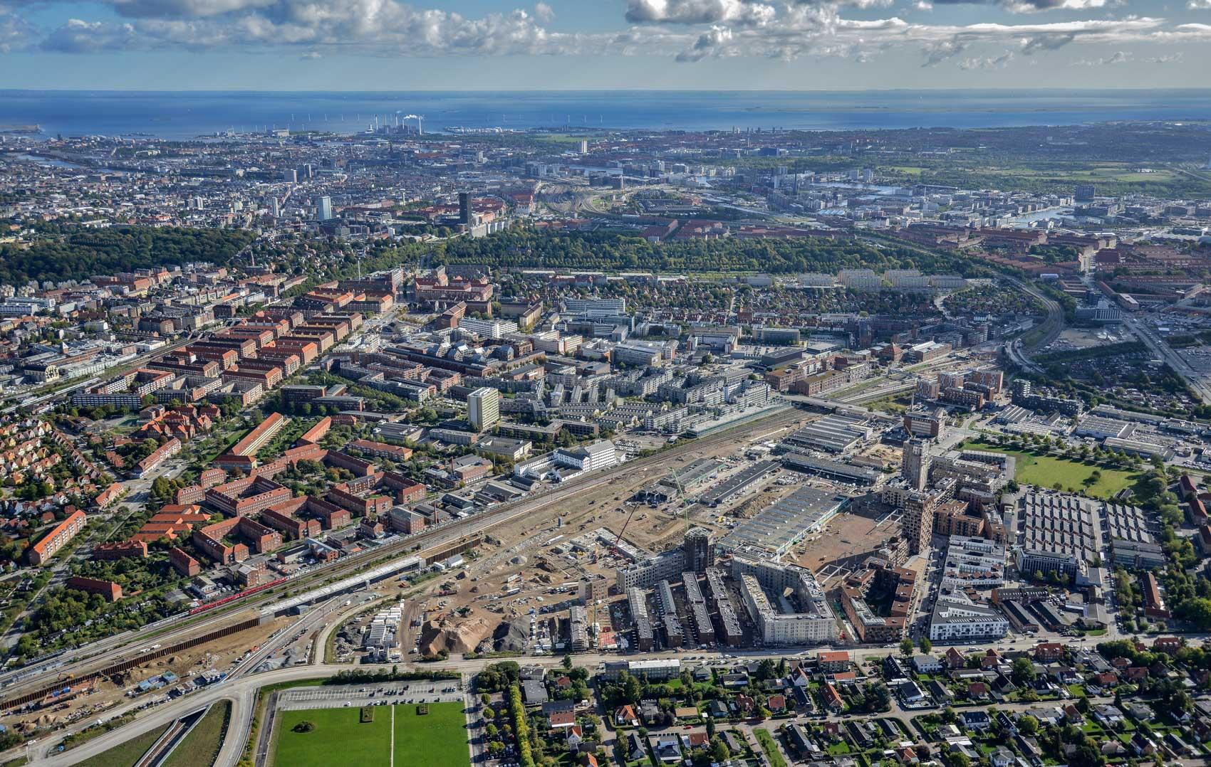 Grønttorvet - udsigt over København