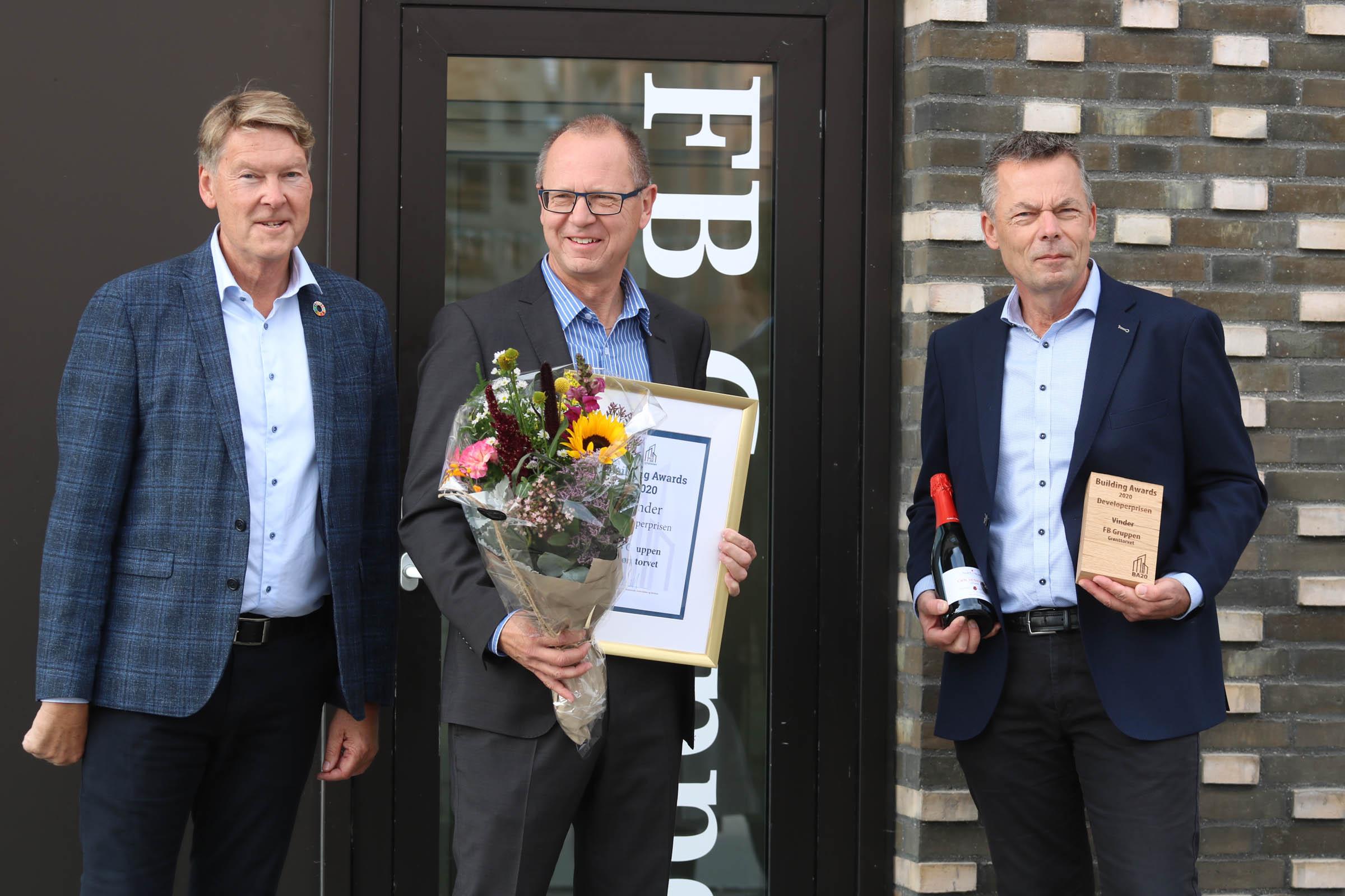 Claus Bering Hans-Bo Hyldig Stig Nørnberg Developerprisen 2020