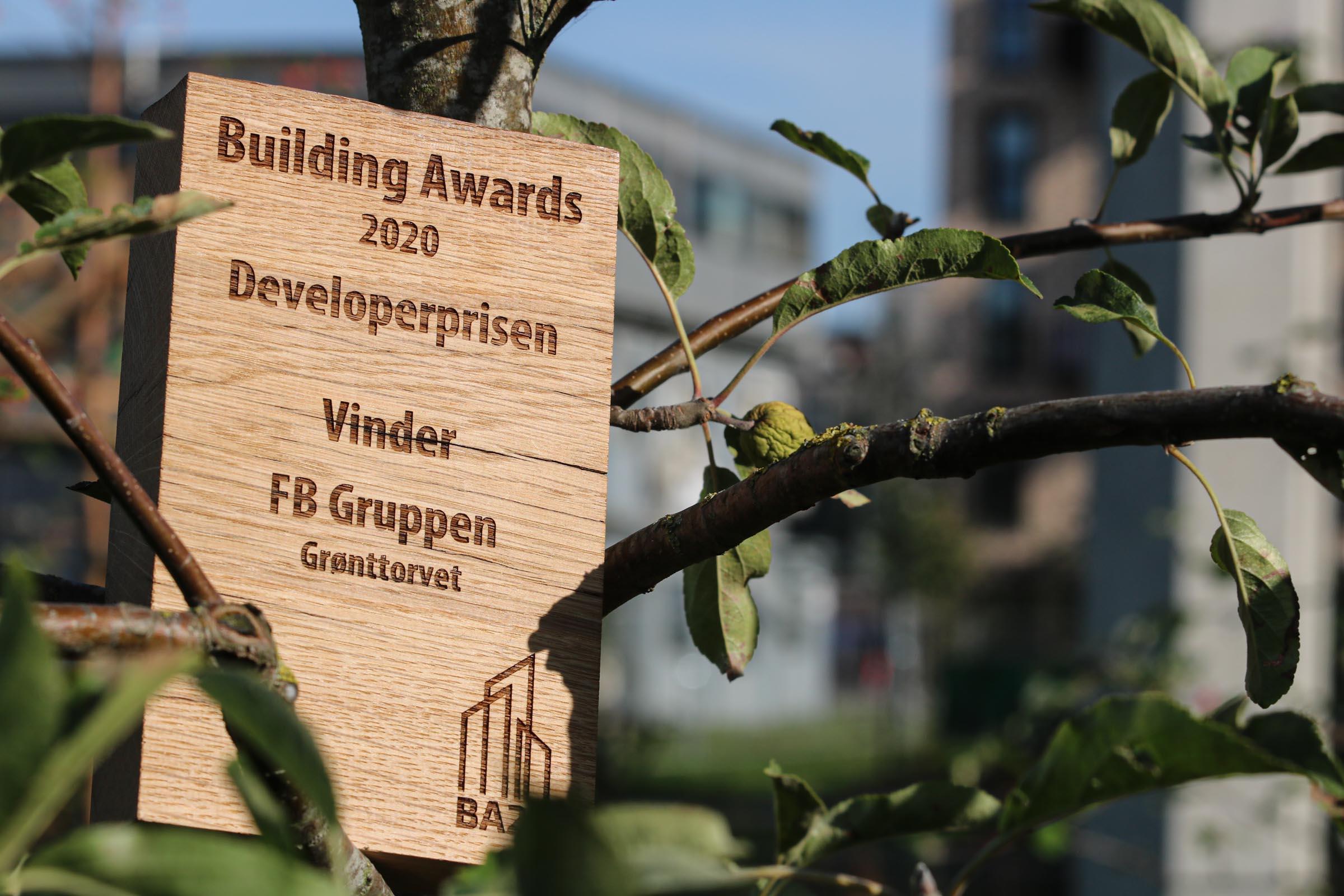 Developerprisen 2020 Grønttorvet FB Gruppen